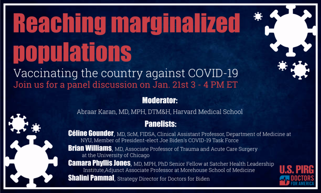 Reaching Marginalized Populations with the COVID-19 Vaccine